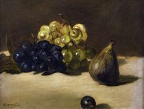 Edouard Manet, Weintrauben und Feige von AKG  Images