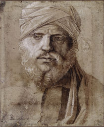 Giovanni Bellini/ Mann mit Turban by AKG  Images