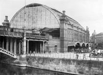 Berlin,Ansicht Bahnhof Friedrichstr. von AKG  Images