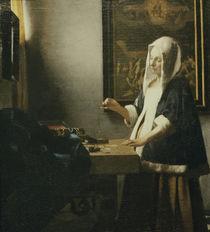 Vermeer, Die Perlenwaegerin von AKG  Images