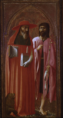 Masaccio u.Masolino/Hl.Hieronymu,Joh.Ev. von AKG  Images