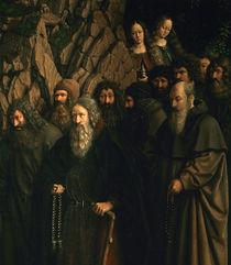 J.v.Eyck, Genter Altar, Einsiedler by AKG  Images