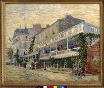 Van Gogh / Restaurant de la Sirene /1887 by AKG  Images