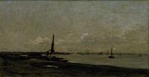C.F.Daubigny, Muendung der Themse von AKG  Images