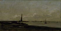 C.F.Daubigny, Muendung der Themse by AKG  Images