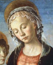 Botticelli, Maria mit Kind, Ausschnitt by AKG  Images