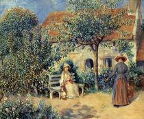 Auguste Renoir, Scene du jardin von AKG  Images