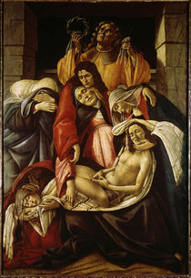 S.Botticelli, Beweinung Christi by AKG  Images