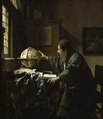 J. Vermeer, Der Astronom by AKG  Images