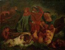 Feuerbach nach Delacroix, Dante u.Vergil by AKG  Images