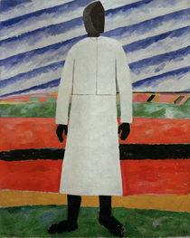 K.Malewitsch, Baeuerin mit schwarzem... von AKG  Images