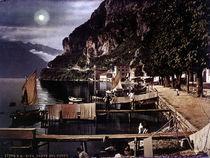 Riva / Hafen / Photochrom um 1900 von AKG  Images
