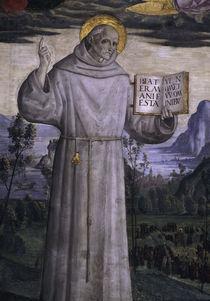 Pinturicchio, Hl.Bernhardin v.Siena von AKG  Images