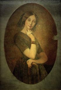 Louise de Broglie / Portraet v.Ingres von AKG  Images