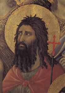 Duccio, Maesta, Johannes der Taeufer by AKG  Images