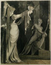 J.H.Fuessli, Kriemhild zeigt Haupt Gunth. by AKG  Images
