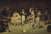 Edouard Manet/Das spanische Ballett/1862 by AKG  Images