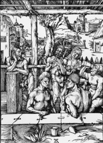 A.Duerer, Das Maennerbad by AKG  Images