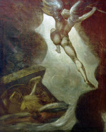 J.H.Fuessli, Satan fliegt auf... by AKG  Images