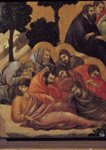 Duccio, Christus am Oelberg, Ausschnitt von AKG  Images