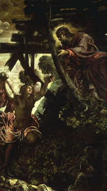Tintoretto, Versuchung Christi by AKG  Images