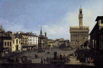 Florenz, Piazza della Signoria /Bellotto by AKG  Images