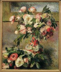 A.Renoir, Paeonien von AKG  Images