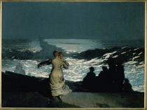 Winslow Homer / Sommernacht by AKG  Images