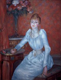 A.Renoir, Portraet Mme de Bonnieres von AKG  Images