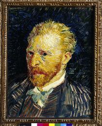 van Gogh, Selbstbildnis / Paris 1887 von AKG  Images