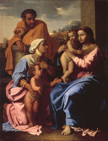 N.Poussin, Heilige Familie by AKG  Images