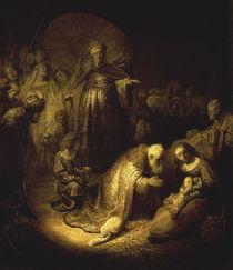 Rembrandt, Anbetung der KOenige von AKG  Images