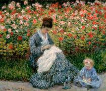 Monet/Camille mit Kind im Garten/1875 von AKG  Images