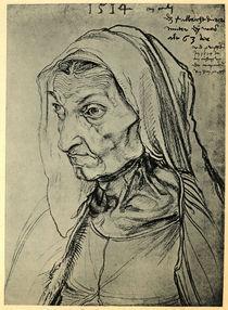 Duerers Mutter / Zeichnung v.A.Duerer by AKG  Images