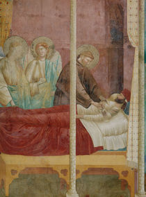 Giotto, Franziskus heilt Ilerda von AKG  Images