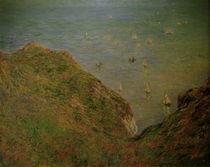 C.Monet, Auf der Klippe von Pourville von AKG  Images