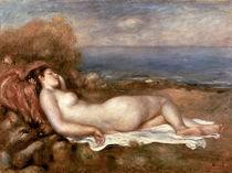 Renoir/ Baigneuse chouchee au bord ... by AKG  Images