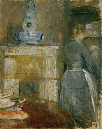 B.Morisot, Im Esszimmer by AKG  Images