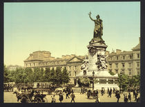 Paris, Place de la Republique/Photochrom by AKG  Images