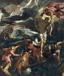 Tintoretto, Markus rettet Sarazenen by AKG  Images