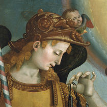L.Signorelli, Kopf des Erzengels Michael von AKG  Images