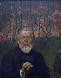 Hans Thoma, Selbstbildnis 1899 by AKG  Images