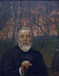 Hans Thoma, Selbstbildnis 1899 von AKG  Images