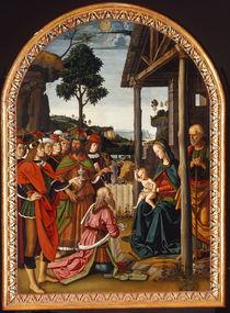 Perugino, Anbetung der Koenige by AKG  Images