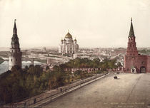 Moskau, Erloeserkirche / Photochrom by AKG  Images