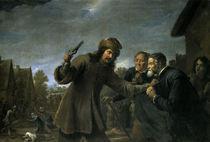 David Teniers d.J.,Ueberfall auf ein Dorf von AKG  Images