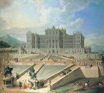 Rivoli, Schloss / Gemaelde von Pannini by AKG  Images
