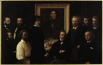 H.Fantin-Latour, Hommage a Delacroix by AKG  Images