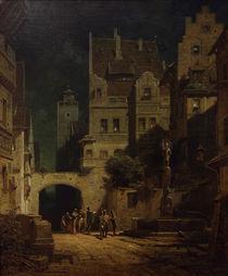 C.Spitzweg, Staendchen im Mondschein by AKG  Images