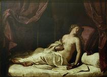 Tod der Kleopatra / Guercino von AKG  Images